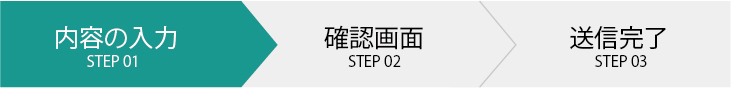 内容の入力 Step01